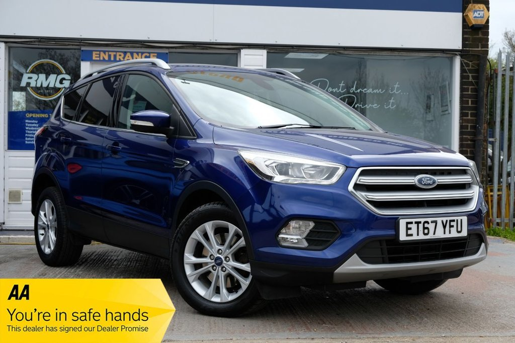 USED 2017 67 FORD KUGA 2.0 TITANIUM TDCI 5d 148 BHP AVAILABLE FOR £265 PER MONTH £0 DEPOSIT