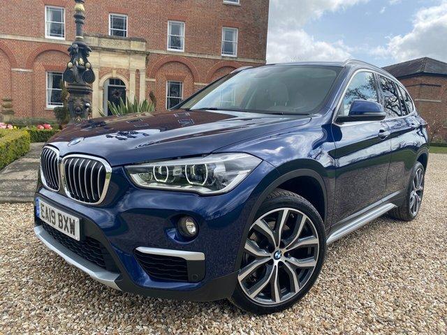 2019 19 BMW X1 2.0 XDRIVE20D XLINE 5d 188 BHP