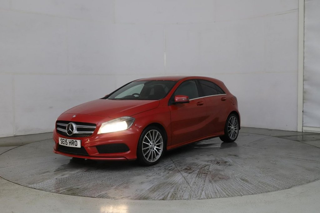 USED 2015 15 MERCEDES-BENZ A-CLASS 2.1 A220 CDI BLUEEFFICIENCY AMG SPORT 5d 170 BHP Buy Online Moneyback Guarantee