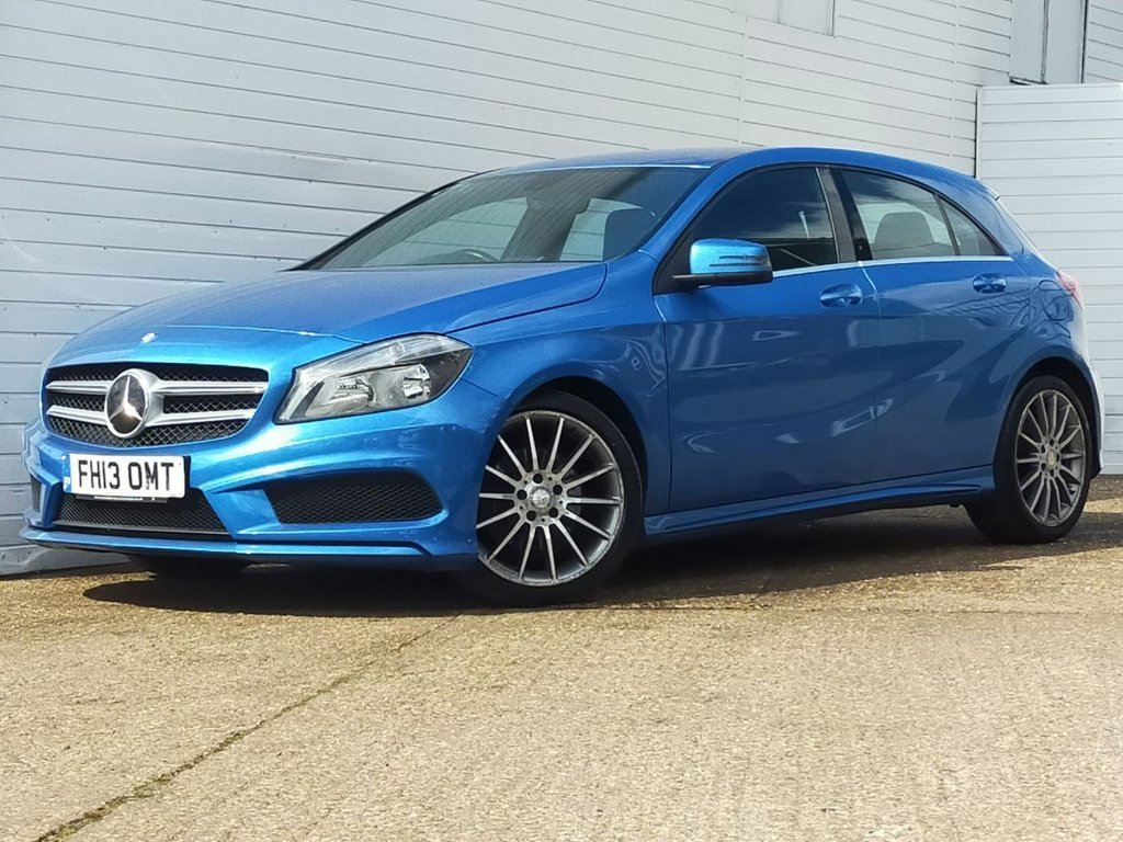USED 2013 13 MERCEDES-BENZ A-CLASS 1.5 A180 CDI BLUEEFFICIENCY AMG SPORT 5d 109 BHP Buy Online Moneyback Guarantee