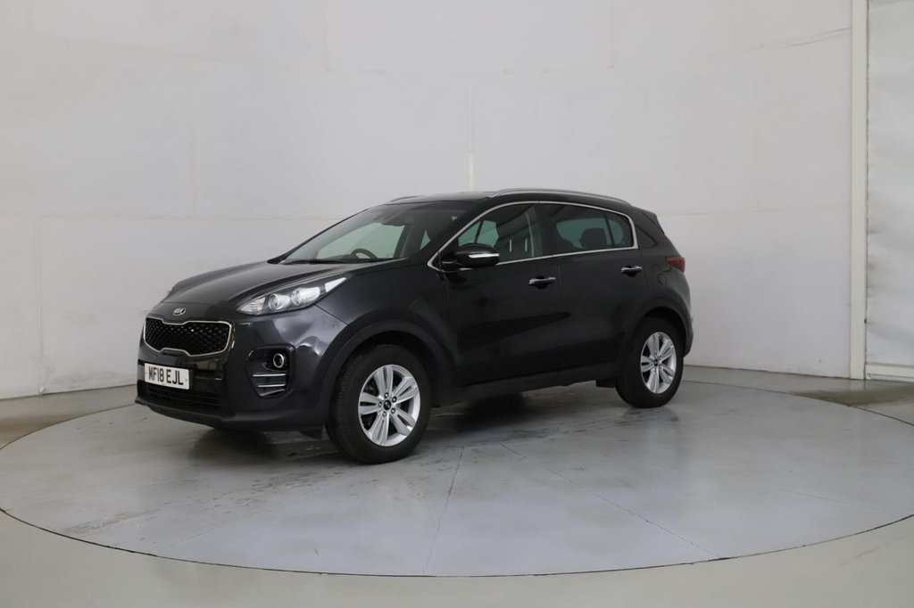 USED 2018 18 KIA SPORTAGE 1.6 2 ISG 5d 130 BHP Buy Online Moneyback Guarantee