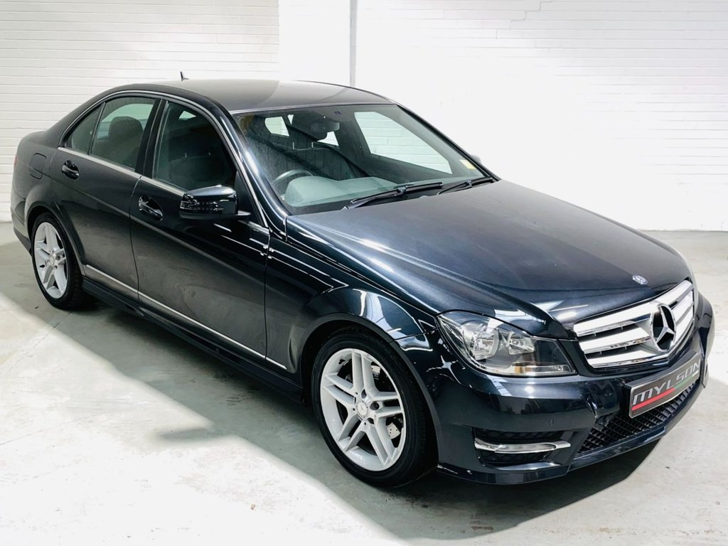 USED 2012 62 MERCEDES-BENZ C-CLASS 2.1 C220 CDI BLUEEFFICIENCY AMG SPORT 4d 168 BHP Full Service History, AA Inspection Passed, Low Mileage