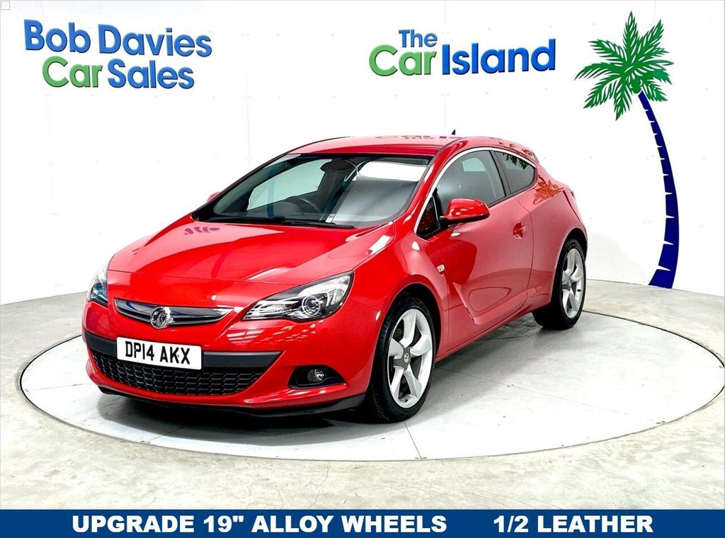 USED 2014 14 VAUXHALL ASTRA GTC 1.6 SRI S/S 3d 197 BHP Stunning low mileage well maintained local example