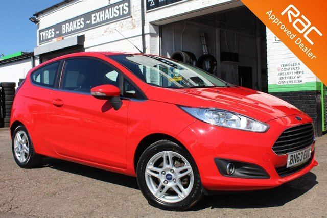 USED 2013 63 FORD FIESTA 1.0 ZETEC 3d 99 BHP VIEW AND RESERVE ONLINE OR CALL 01527-853940 FOR MORE INFO.