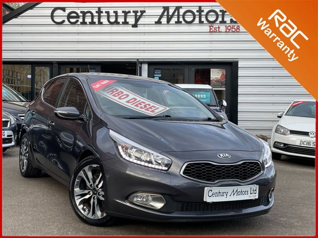 2015 15 KIA CEED 1.6 CRDI Level 4 NAVIGATOR 5dr - LEATHER