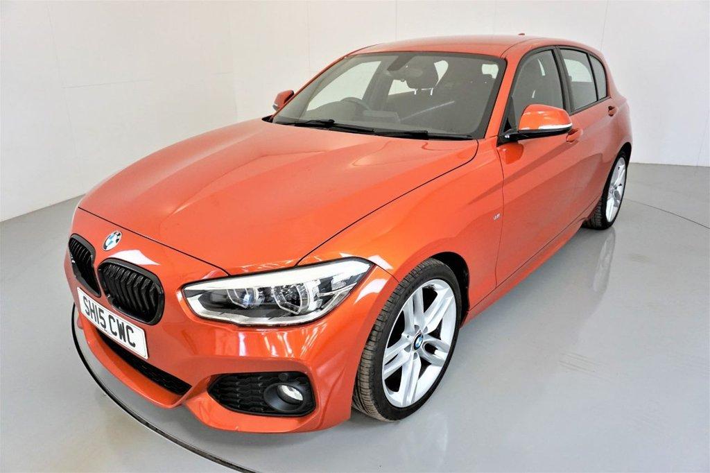 USED 2015 15 BMW 1 SERIES 2.0 118D M SPORT 5d-2 OWNER CAR-30 ROAD TAX-ALCANTARA SEATS-18