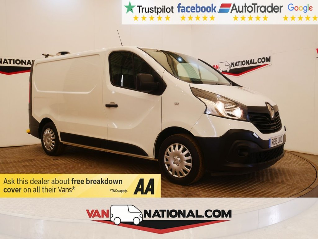 USED 2016 16 RENAULT TRAFIC 1.6 SL29 BUSINESS ENERGY DCI P/V 120 BHP WWW.VANNATIONAL.COM