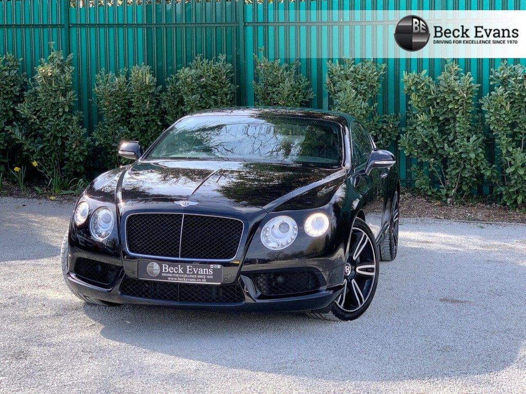 USED 2012 62 BENTLEY CONTINENTAL 4.0 GT V8 2d 500 BHP