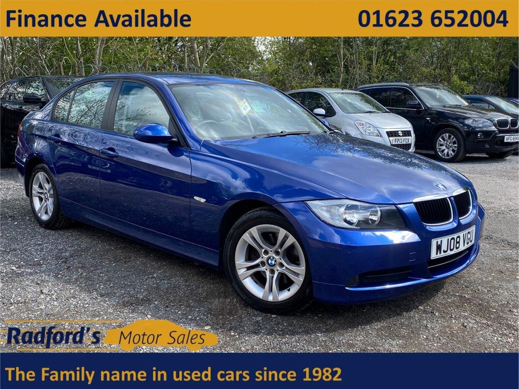 USED 2008 08 BMW 3 SERIES 2.0 320I SE 4d 169 BHP