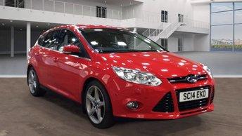 2014 FORD FOCUS 1.6 TITANIUM X TDCI 5d 113 BHP £7495.00