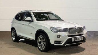 2015 BMW X3 2.0 XDRIVE20D XLINE 5d 188 BHP £16495.00