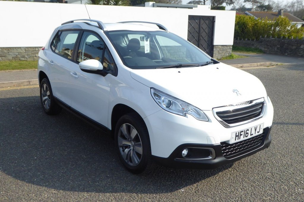 USED 2016 16 PEUGEOT 2008 1.2 PURE TECH ACTIVE 5d 82 BHP ROAD TAX £30..F.P.S.H