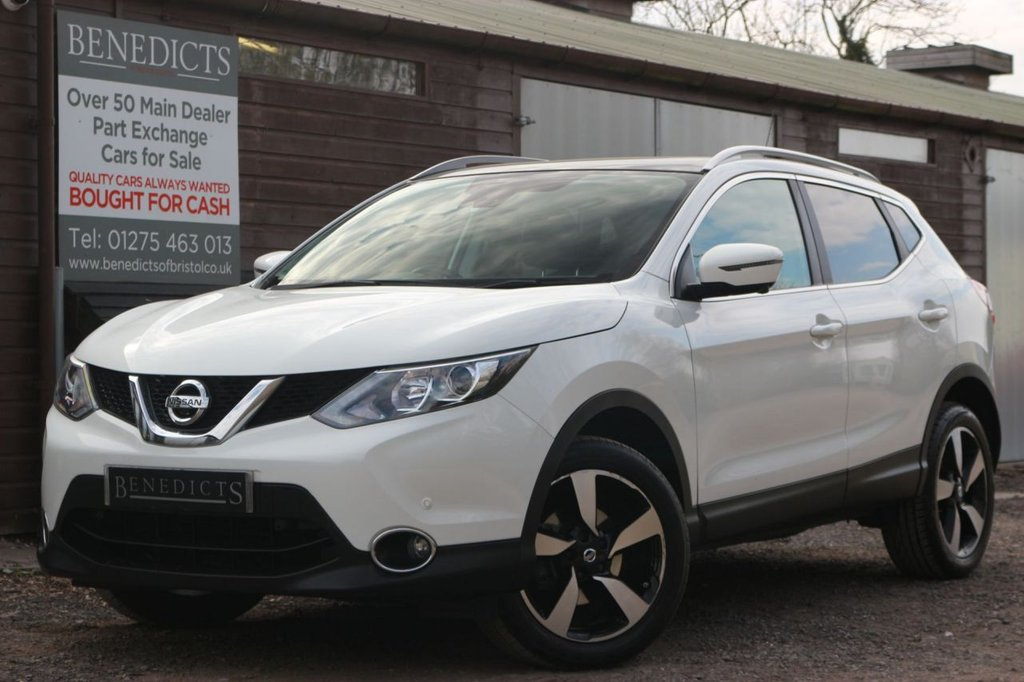 USED 2017 17 NISSAN QASHQAI 1.5 N-CONNECTA DCI 5d 108 BHP