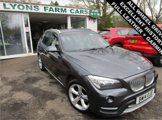 USED 2014 14 BMW X1 2.0 XDRIVE 20D XLINE AWD 5d 181 BHP AUTOMATIC ALL WHEEL DRIVE Excellent Service History + Just Serviced, NEW MOT, Automatic, All Wheel Drive