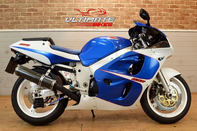 USED 2000 W SUZUKI GSX-R600 Y