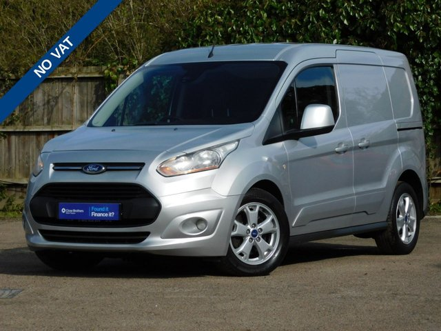 USED 2014 14 FORD TRANSIT CONNECT 1.6 200 LIMITED P/V 114 BHP NO VAT+Aircon+Nav+Reverse Cam