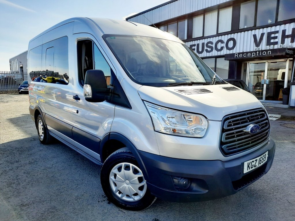 USED 2018 FORD TRANSIT 2.2 350 TREND BUS 12 STR 124 BHP VAT INCLUDED IN PRICE!