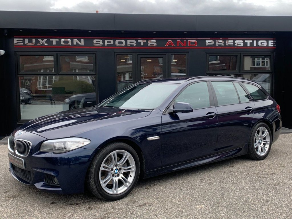 USED 2011 60 BMW 5 SERIES 2.0 520d M Sport Touring 5dr SERVICE HISTORY