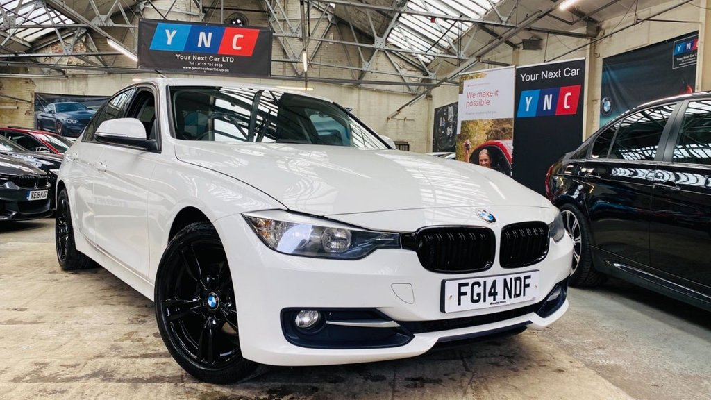 USED 2014 14 BMW 3 SERIES 2.0 316d Sport (s/s) 4dr YNCSTYLING+MSPORT18S+PRIVACY