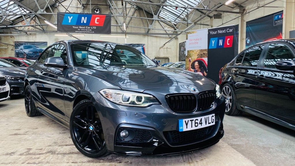 USED 2014 64 BMW 2 SERIES 2.0 220i M Sport (s/s) 2dr PERFORMANCEKIT+XENONS+18S