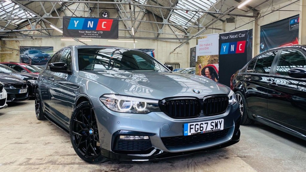 USED 2017 67 BMW 5 SERIES 3.0 530d M Sport Auto (s/s) 4dr PERFORMANCEKIT+20S+REVERSECAM