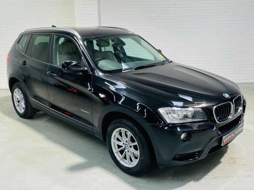 USED 2012 12 BMW X3 2.0 XDRIVE20D SE 5d 181 BHP Full Service History, AA Inspection Passed