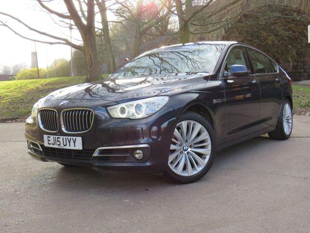 USED 2015 15 BMW 5 SERIES 2.0 520D LUXURY GRAN TURISMO 5d 181 BHP