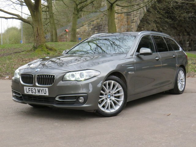 USED 2013 63 BMW 5 SERIES 2.0 520D LUXURY TOURING 5d 181 BHP