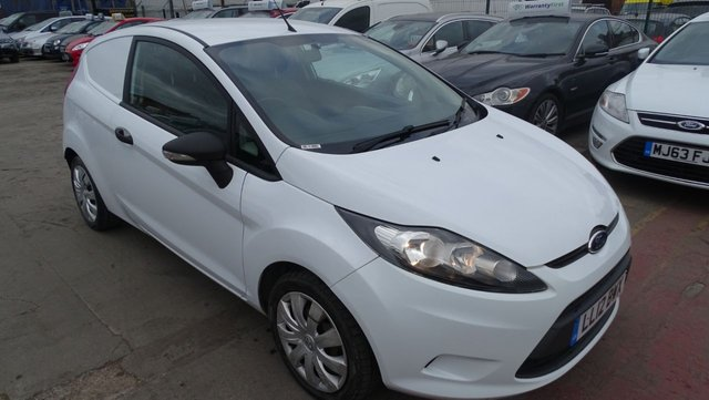 USED 2012 12 FORD FIESTA 1.4 1.4 TDCI 69 BHP 1 YEAR MOT INCLUDED