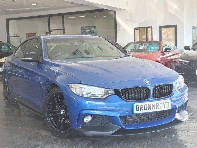 USED 2014 14 BMW 4 SERIES 2.0 420D M SPORT 2d 181 BHP BM PERFORMANCE STYLING+6.9%APR
