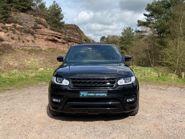 USED 2015 15 LAND ROVER RANGE ROVER SPORT 3.0 SDV6 HSE DYNAMIC 5d 288 BHP Top Spec PAN SUNROOF EXT