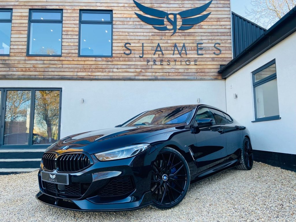 USED 2019 69 BMW 8 SERIES GRAN COUPE 4.4 M850I XDRIVE 4d AUTO 523 BHP COUPE