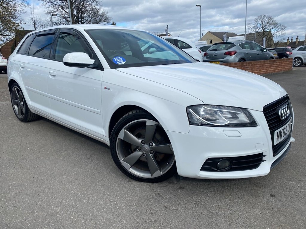 USED 2012 62 AUDI A3 2.0 SPORTBACK TDI S LINE SPECIAL EDITION 5d 138 BHP