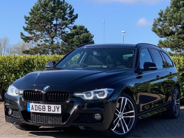 USED 2019 68 BMW 3 SERIES 3.0 335D XDRIVE M SPORT SHADOW EDITION TOURING 5d 308 BHP