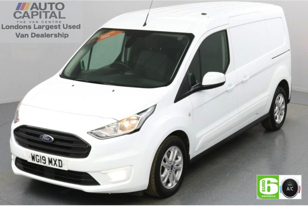 USED 2019 19 FORD TRANSIT CONNECT 1.5 240 Limited EcoBlue 120 BHP L2 LWB 3 Seats Low Emission Keyless | Air Con | Rear Parking Sensors | Alloy wheels | Auto Start-Stop system