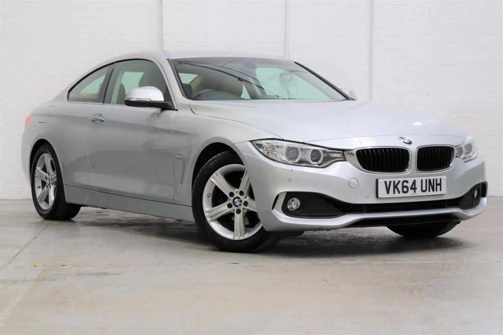 USED 2014 64 BMW 4 SERIES 2.0 420I SE 2d 181 BHP 1 Owner + BMW Service History