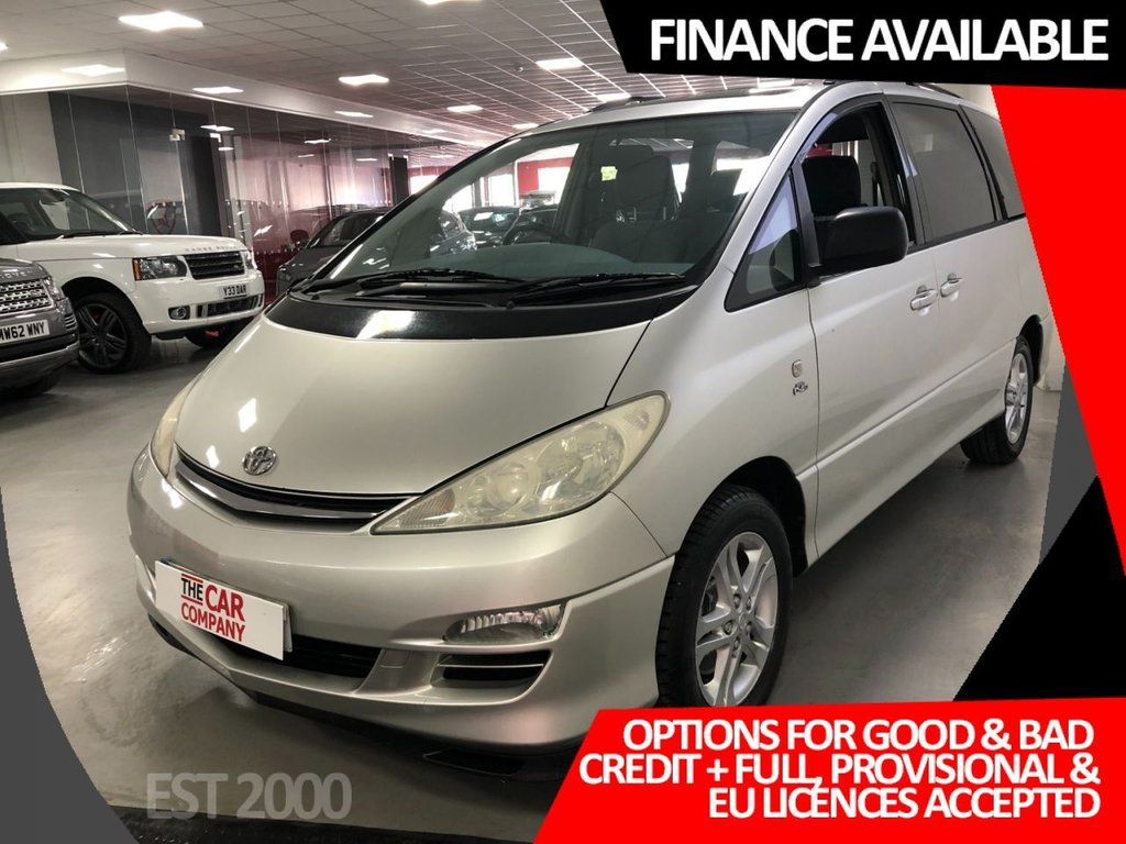 USED 2003 53 TOYOTA PREVIA 2.0 T SPIRIT D-4D 7STR 5d 114 BHP * 7 SEATER * ALLOY WHEELS * MOT SEPT * 13 SERVICE STAMPS * CLIMATE CONTROL * PRIVACY GLASS *