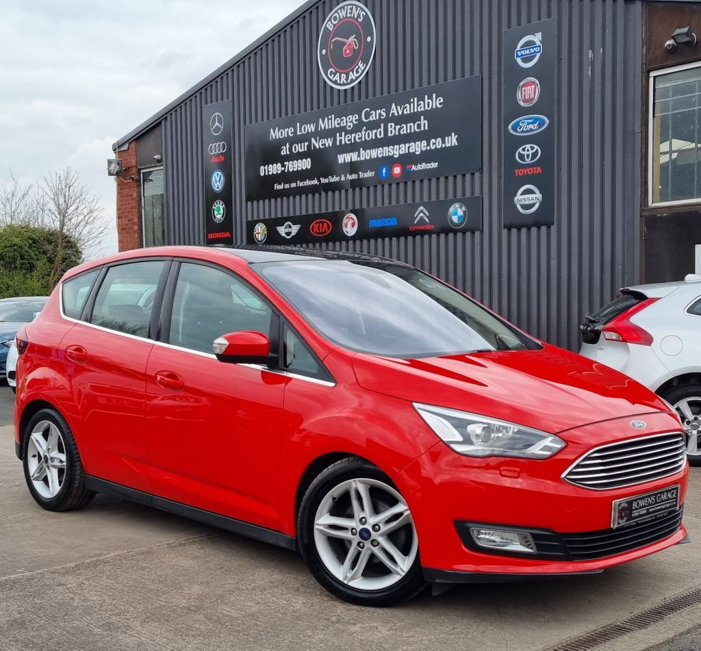 USED 2016 16 FORD C-MAX 1.0 TITANIUM X 5D 124 BHP Low Miles - 2 Owners - 3 Services - £30 Tax