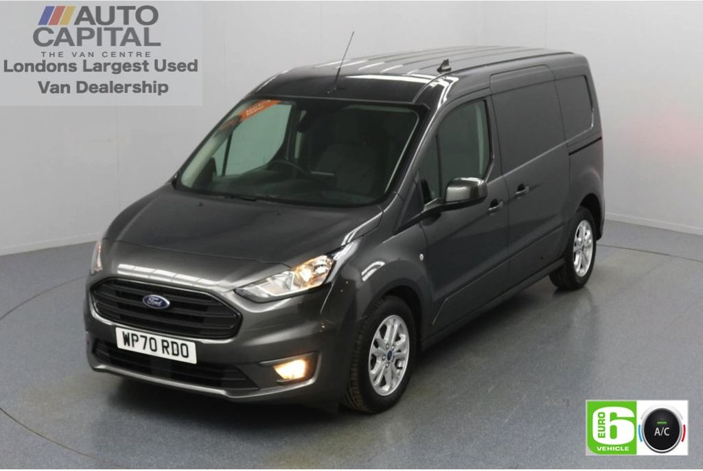 USED 2020 70 FORD TRANSIT CONNECT 1.5 240 Limited EcoBlue Auto 120 BHP L2 LWB 3 Seats Low Emission Automatic | Sat Nav | Reversing Camera | Air conditioning | Auto Start-Stop system | Rear parking distance sensors