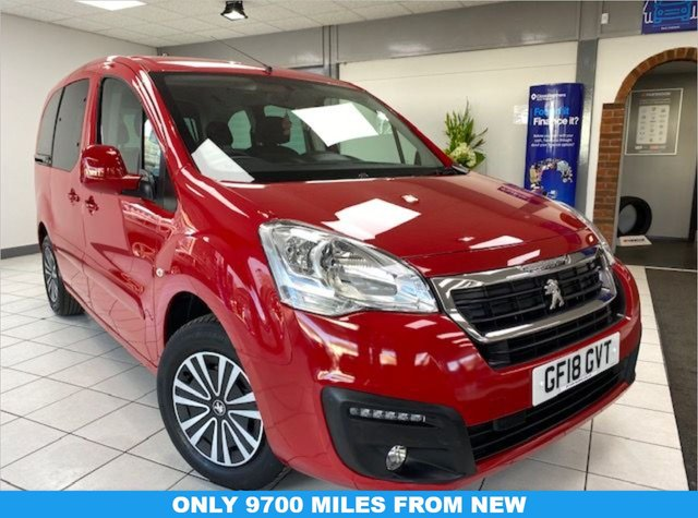 USED 2018 18 PEUGEOT PARTNER 1.6 BLUE HDI S/S TEPEE ACTIVE 5d 98 BHP