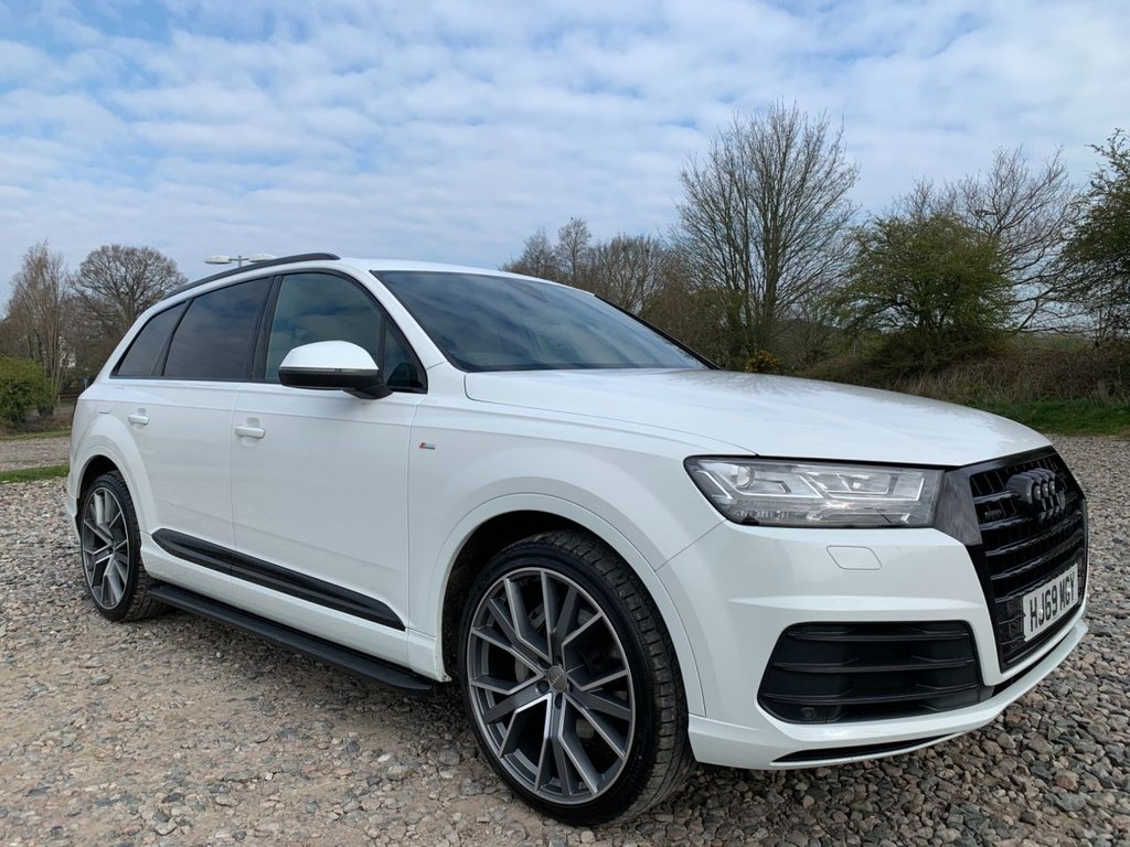 USED 2019 69 AUDI Q7 3.0 TDI QUATTRO S LINE 5d 228 BHP Free Next Day Nationwide Delivery