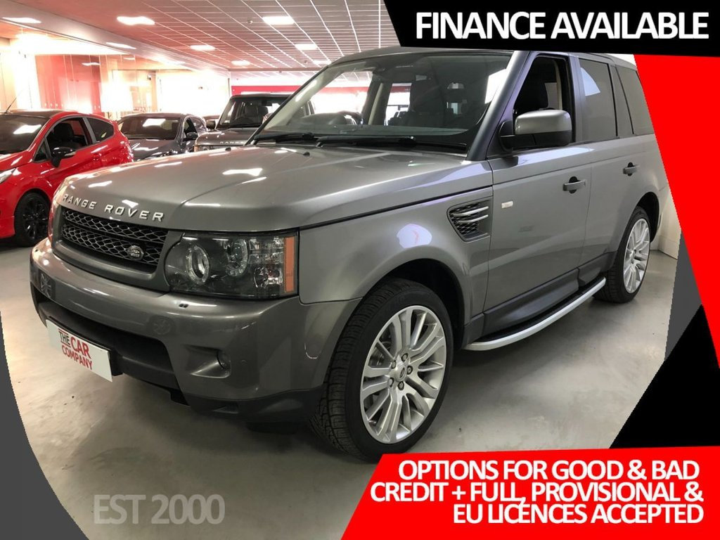 USED 2011 11 LAND ROVER RANGE ROVER SPORT 3.0 TDV6 HSE 5d 245 BHP * HEATED FRONT & REAR LEATHER SEATS * SERVICE HISTORY * MOT NOVEMBER * NAVIGATION