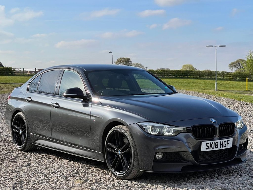 USED 2018 18 BMW 3 SERIES 2.0 320D M SPORT SHADOW EDITION 4d 188 BHP Free Next Day Nationwide Delivery