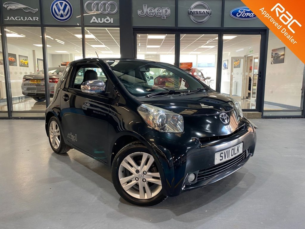 USED 2011 11 TOYOTA IQ 1.3 VVT-I IQ3 3d 97 BHP Complementary 12 Months RAC Warranty and 12 Months RAC Breakdown Cover Also Receive a Full MOT With All Advisory Work Completed, Fresh Engine Service and RAC Multipoint Check Before Collection/Delivery
