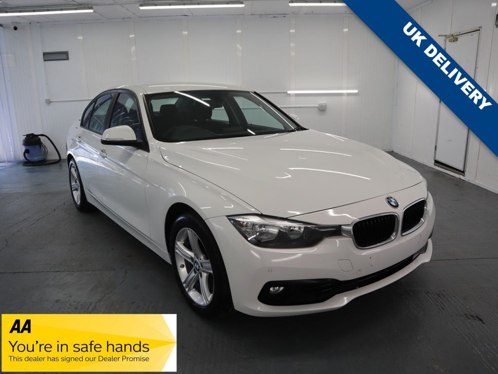 USED 2016 16 BMW 3 SERIES 2.0 330E SE 4d 181 BHP ITS A BMW, ITS A 3 SERIES, ITS A HYBRID AND ITS IN ALPINE WHITE THE PERFECT CHOICE.