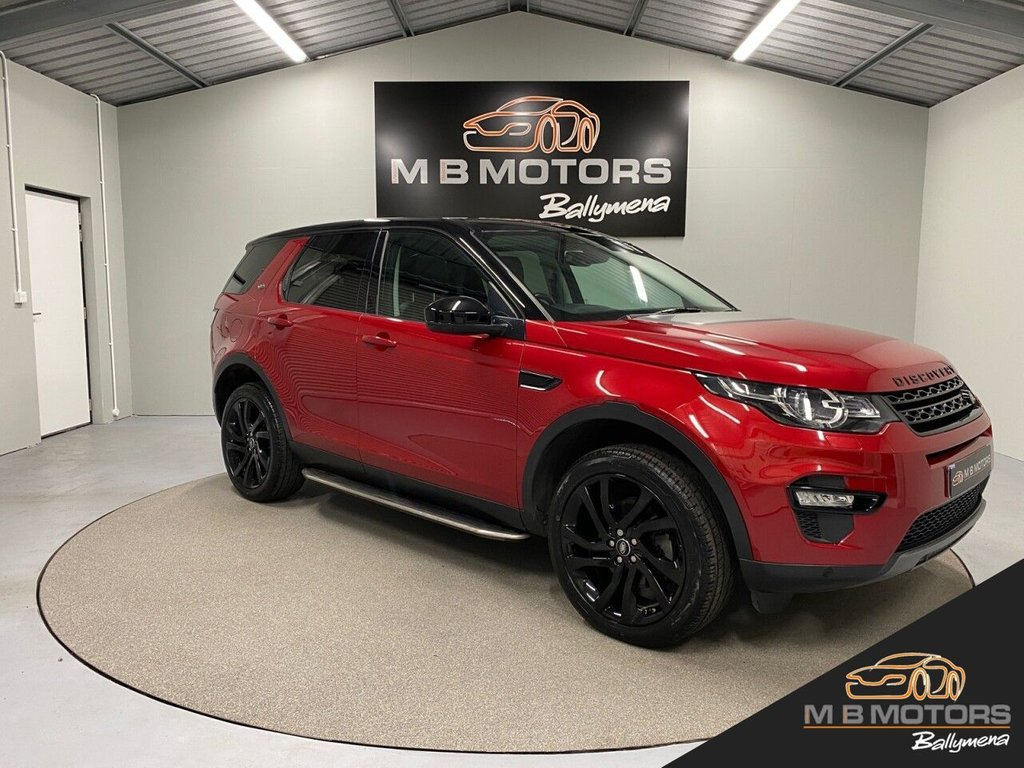USED 2018 LAND ROVER DISCOVERY SPORT HSE BLACK 2.0 TD4 5d 180 BHP **VAT Q**