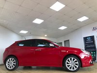 USED 2017 17 ALFA ROMEO GIULIETTA 1.6 JTDM-2 TECNICA 5d 5 Seat Family Hatchback in the Best Colour Alfa Red with Alfa DNA and Spec including Sat Nav Rear Parking Sensors Bluetooth Air Conditioning and much more Recent Service & MOT Ready to Finance and Drive Away Today  The prefect family hatchback with masses of spec!