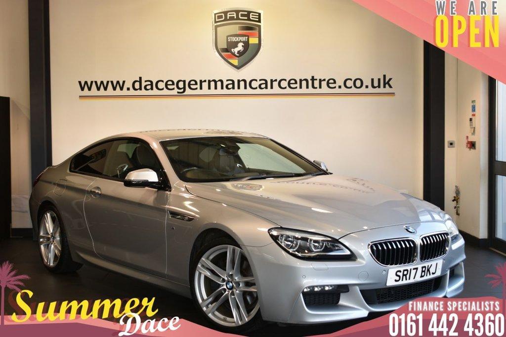 USED 2017 17 BMW 6 SERIES 3.0 640D M SPORT 2DR AUTO 309 BHP