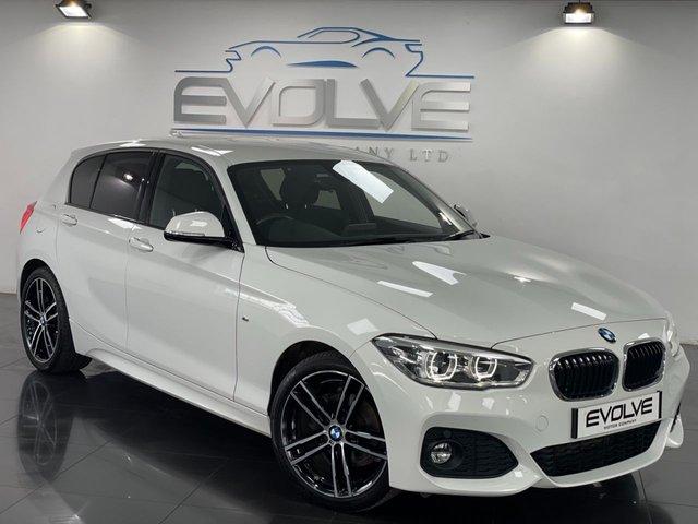 2017 67 BMW 1 SERIES 2.0 118D M SPORT 5d 147 BHP