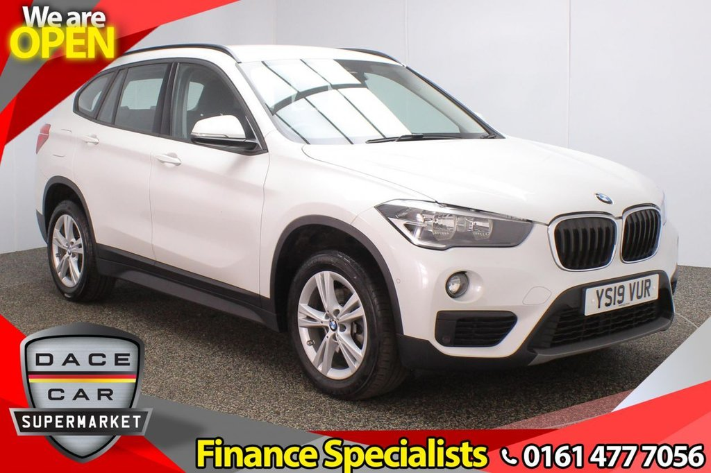 USED 2019 19 BMW X1 2.0 SDRIVE18D SE 5DR 1 OWNER AUTO 148 BHP FULL BMW SERVICE HISTORY + SATELLITE NAVIGATION + HEAD UP DISPLAY + PARKING SENSOR + BLUETOOTH + CRUISE CONTROL + CLIMATE CONTROL + MULTI FUNCTION WHEEL + DAB RADIO + ELECTRIC WINDOWS + ELECTRIC DOOR MIRRORS + 17 INCH ALLOY WHEELS